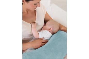Coussinet d'allaitement Marque Generique Coussin grossesse - coussin allaitement coussin d'allaitement la lune peluche 140x27cm taupe