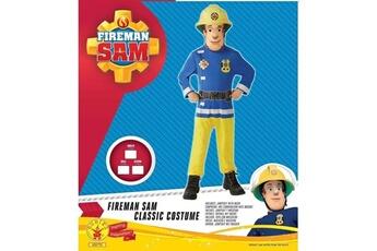 Déguisements Marque Generique Deguisement - panoplie de deguisement taille 5/6 ans sam le pompier déguisement sam le pompier + accessoire