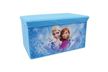 Coffre à jouets Marque Generique Coffre a jouets fun house disney reine des neiges banc de rangement pliable pour enfant