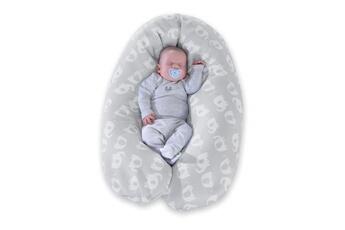 Coussinet d'allaitement Marque Generique Coussin grossesse - coussin allaitement coussin d'allaitement et de maternité 170x34cm le confort jersey gris
