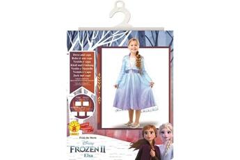 Déguisements Marque Generique Deguisement - panoplie de deguisement taille 3/4 ans disney princesse la reine des neiges 2 - d?guisement classique elsa