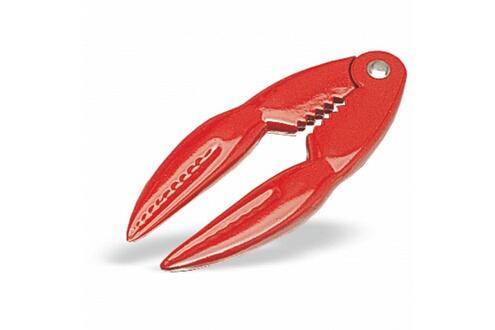 Pujadas Pince casse-pattes homard en aluminium rouge l 14 cm - pujadas -          aluminium