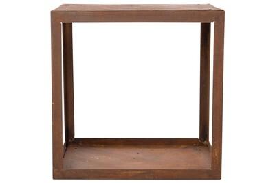 Outil pour couper et débiter le bois GENERIQUE Accessoires pour cheminées et poêles à bois ensemble quito redfire abri de stockage du bois de chauffage hodr rouillé 88519