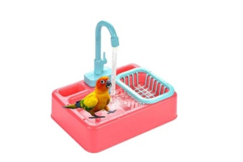 Jouets éducatifs GENERIQUE Bird bathtub, parrot automatic bathtub with faucet, bird shower bathtub for pet multicolore