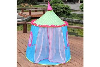 Jouets éducatifs GENERIQUE Castle children tent house of games for kids funny portable tent baby playing