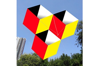 Jouets éducatifs Generic Sports de plein air amusants pour les enfants 3d magic cube-box cerf-volant ligne unique bon vol nouveau @suoupasora7739