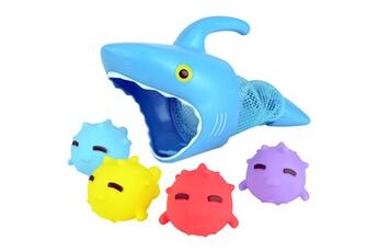 Jouets premier âge AUCUNE Sunny patch spark shark fish hunt pool game avec requin et 4 animaux à attraper_w1122