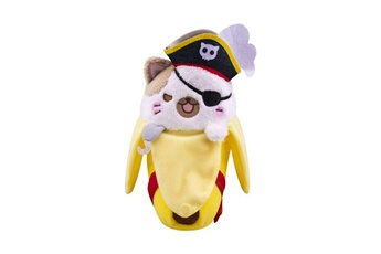 Peluches Funko Bananya - peluche pirate bananya 18 cm