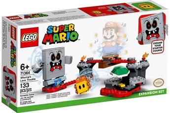 Figurine Lego Lego - mario - 71364 - ensemble d'extension la forteresse de lave de whomp