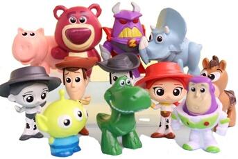 Accessoires pour maquette Allbiz Disney pixar toy story 3 figurine allbiz woody jouet 12 pc/paquet 3-6cm figurine 3 ans jouet d'enfant