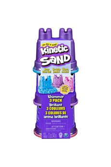 Autres jeux créatifs Spin Master Spin master 6053520 - kinetic sand 3 couleurs 3 paquets 340g
