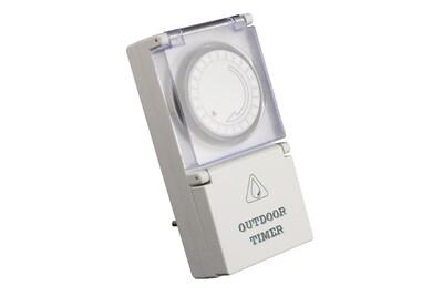 Thermostat et programmateur de chauffage No-name Programmateur mécanique journalier étanche ip44