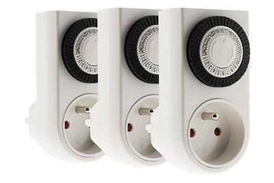 Thermostat et programmateur de chauffage Otio Lot de 3 mini programmateurs mécaniques - otio