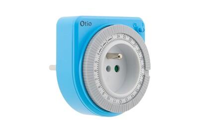 Thermostat et programmateur de chauffage Otio Programmateur mécanique bleu - otio