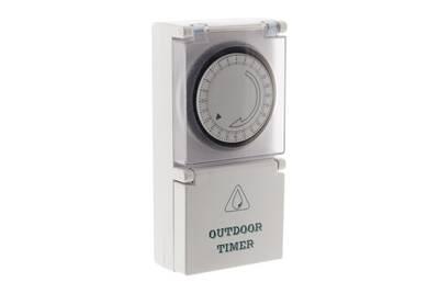 Thermostat et programmateur de chauffage Lifedom Programmateur mécanique journalier de jardin