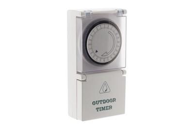 Thermostat et programmateur de chauffage Zenitech Programmateur mécanique journalier de jardin