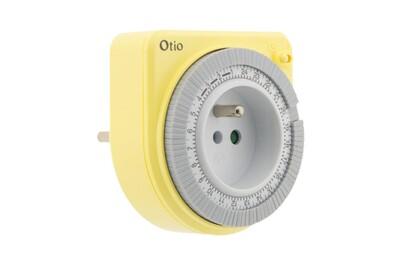 Thermostat et programmateur de chauffage Otio Programmateur mécanique jaune - otio