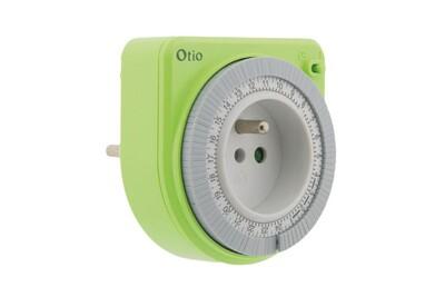 Thermostat et programmateur de chauffage Otio Programmateur mécanique vert - otio