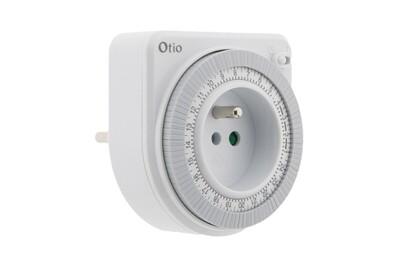 Thermostat et programmateur de chauffage Otio Programmateur mécanique blanc - otio