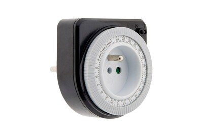 Thermostat et programmateur de chauffage Otio Programmateur mécanique noir - otio