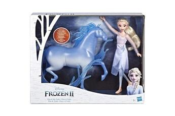 Poupées Marque Generique Poupee disney la reine des neiges 2 - poupee princesse disney elsa et nokk, le cheval