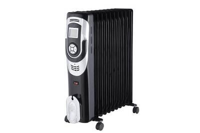Radiateur électrique Marque Generique Radiateur electrique fixe chauffage bain d'huile électronique 2500w