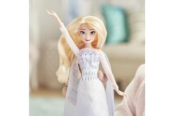 Poupées Marque Generique Poupee disney la reine des neiges 2 - poup?e princesse disney elsa chantante (fran?ais) en tenue de reine - 27 cm