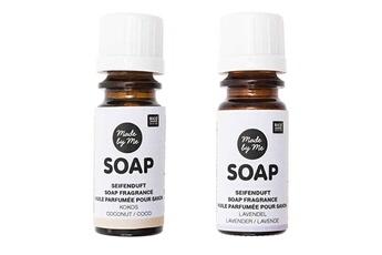 Jeux ludo éducatifs Rico Design 2 huiles parfumées 10 ml pour savon - noix de coco, lavande