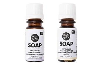Jeux ludo éducatifs Rico Design 2 huiles parfumées 10 ml pour savon - lavande, vanille