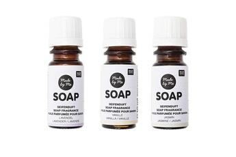 Jeux ludo éducatifs Rico Design 3 huiles parfumées 10 ml pour savon - lavande, vanille, jasmin