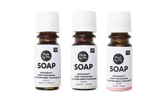 Jeux ludo éducatifs Rico Design 3 huiles parfumées 10 ml pour savon - vanille, jasmin, rose