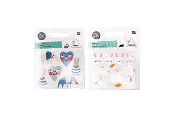 Mode et stylisme Rico Design Ecussons à repasser pour enfants - baby boy + petits lapins