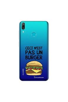 Coque iPhone 11 Pro Max 360 intégrale transparente Ceci n'est pas un Burger Ecriture Tendance Design La Coque Francaise