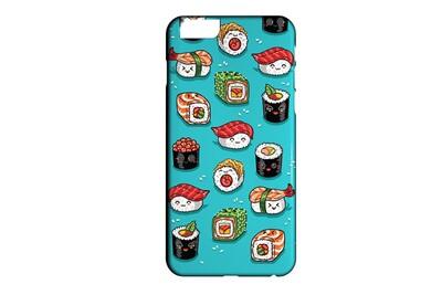 Coque rigide compatible pour iphone 6 6s japan food sushi fashion kawaii 07