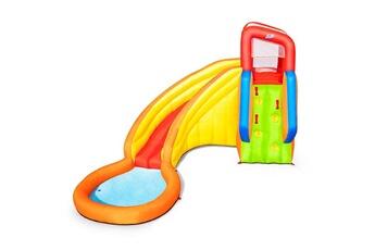 Aire de jeux gonflable Bestway Aire de jeux avec toboggan et pataugeoire bestway splash tower