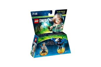 Figurine WARNER BROS Lego dimensions - pack héros - les animaux fantastiques?