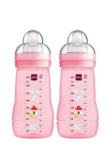 Biberon MAM Mam biberon pour bébé 270 ml , lot de 2