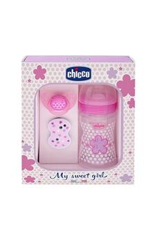 Biberon Chicco Chicco 20711610000 set naissance biberon + sucette + attache