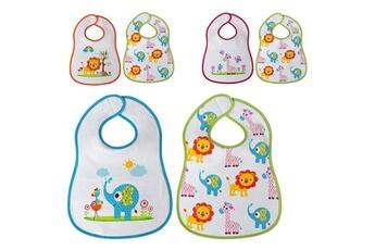 Vaisselle bébé Euroweb Bavoirs pour bébé avec fermeture velcro (2 pièces)