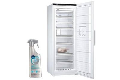 Congelateur Armoire Siemens Congelateur Armoire Vertical Blanc A Froid Ventile 365l Autonomie 25h No Frost Darty