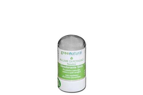 Greenatural Désodorisant bâton pierre alun potassium
