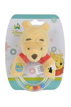 Doudou Disney Simba 6315873657-disney winnie l'ourson peluche anneau hochet