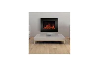 Cheminée électrique AUCUNE Carrera stella 1800 watts cheminée électrique décorative et chauffage d'appoint
