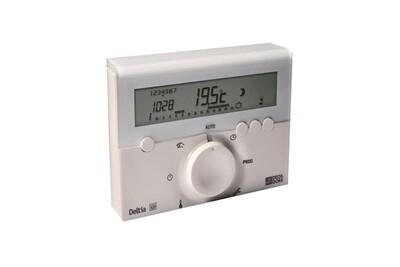 Thermostat et programmateur de chauffage Delta Dore Thermostat d'ambiance deltia 8.00 programmable électronique filaire