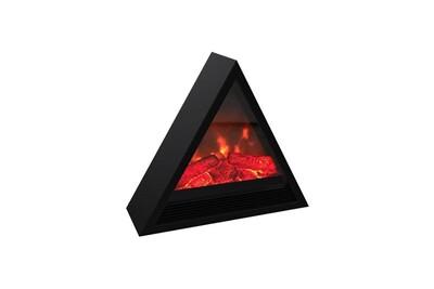 Cheminée électrique Carrera Khéops 1800 watts cheminée électrique pyramidale décorative et chauffage d'appoint