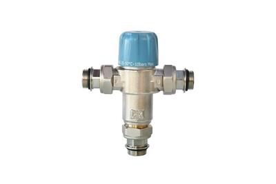 Thermostat et programmateur de chauffage SOMATHERM Limiteur thermostatique réglable nf de 35 a 50°c - avec clapets anti-retours 3/4' pour chauffe eau