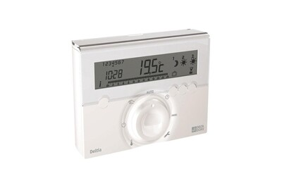 Thermostat et programmateur de chauffage Delta Dore Programmateur fil pilote deltia 8.31 3 zones