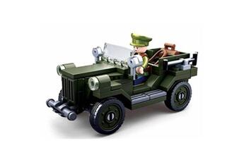 Autres jeux de construction GENERIQUE Jeu de construction compatible lego sluban wwii 2ème guerre mondiale - m38 b0682 soldat articulé