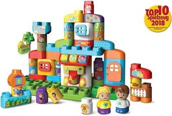 Autres jeux de construction Vtech Vtech 80-604904 bla-bla blocks - alphabet maison de frein de construction jouet de construction version allemande