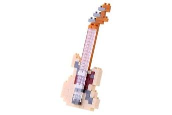 Autres jeux de construction GENERIQUE Nanoblock - guitare electrique ivoire